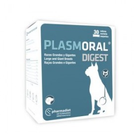 Plasmoral Digest Razas Grandes y Gigantes cuidado gastrointestinal perros 30 sobres