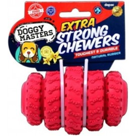 Doggy Masters Extra Srong Chewers juguete dispensador para perros talla M
