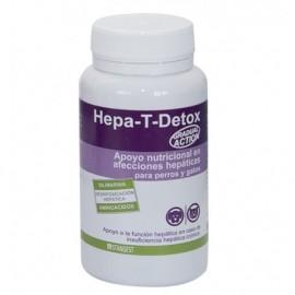 Hepa-T-Detox protección hepática en perros y gatos 60 comp.