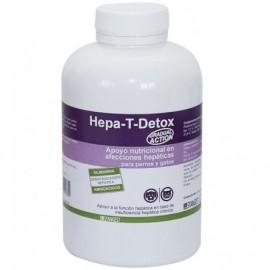 Hepa-T-Detox protección hepática en perros y gatos 300 comp.