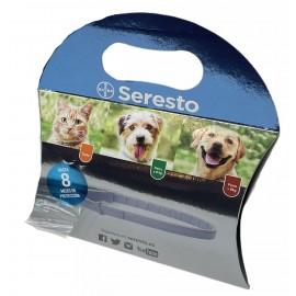 Seresto collar antiparasitario perros de menos de 8 kg. envase cartón