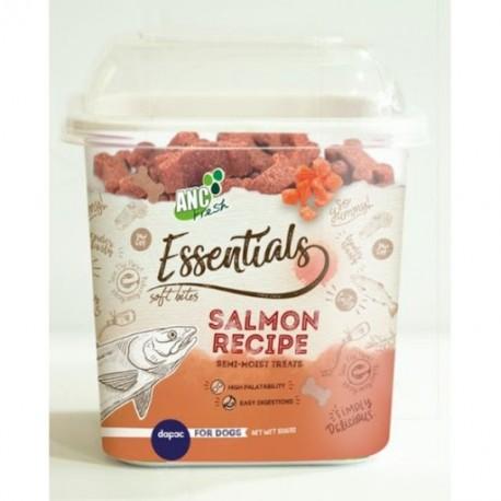 Essentials snack Salmón cubeta 200 gr.