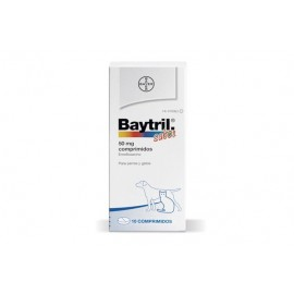 Baytril 50 mg. 10 comp.