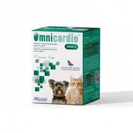 Omnicardio Plus suplemento alimentario para patologías cardíacas en perros y gatos 60 comp.