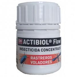 Actibiol Flow insecticida concentrado para insectos voladores y rastreros 100 ml.