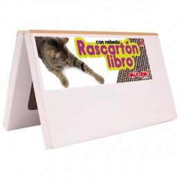 Rascartón en forma de Libro para gatos