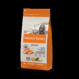 Natures Variety Perro Selected Medium Salmón 2 kg.