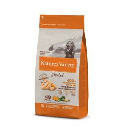 Natures Variety Perro Selected Medium Pollo 2 kg.