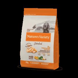 Natures Variety Perro Selected Medium Pollo 10 kg.