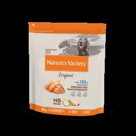 Natures Variety Perro Original No Grain Medium Salmón 600 gr.