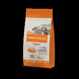 Natures Variety Perro Original No Grain Puppy Salmón 2 kg.