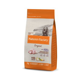 Natures Variety Perro Original No Grain Medium Pavo 2 kg.
