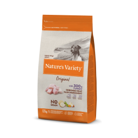 Natures Variety Perro Original No Grain Mini Pavo 1,5 kg.