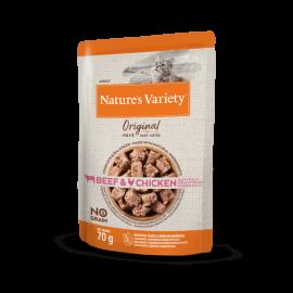 Natures Variety Gato Húmeda Original Buey con Pollo 70 gr.