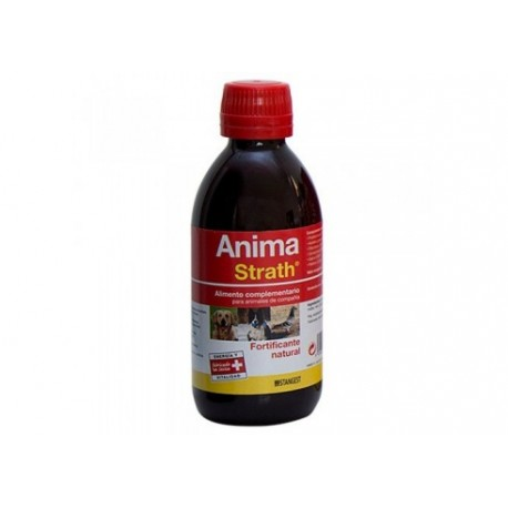 Anima Strath vitaminas para perros, gatos y otros animales 250 ml. + regalo mordedor