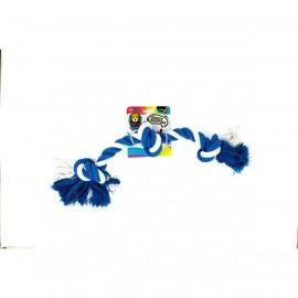 Doggy Masters Colorfull yute play hueso triple 51cm