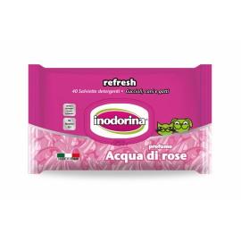 Toallitas Inodorina Acqua di Rosa 40 ud.