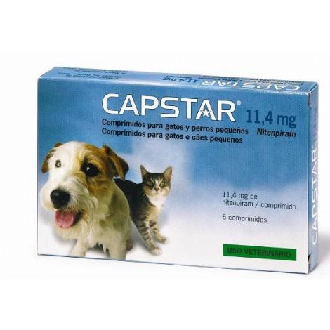 Capstar 11,4 mg. perros y gatos